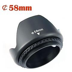 parasol para Canon 58mm len