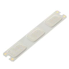 zdm® 2w 36 * cob 50-100lm 460-470k luz azul llevó el bulbo de la luz de tira del coche (CC 11-14v)