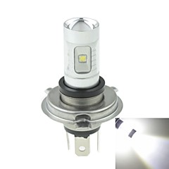 H4 P43T  30W 6xCREE Cold White 2100LM 6500K for Car Fog Light (AC/DC12V-24)
