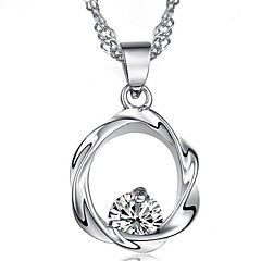 925 Sterling Silver Bloom Happiness Ms Plum Flower Pendant