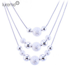 Necklace Statement Necklaces Jewelry Daily Fashion Silver / Sterling Silver / Alloy Silver 1pc Gift