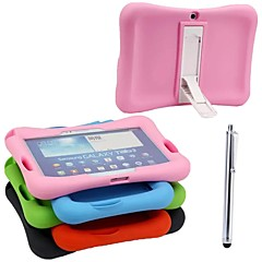 Silicone Shockproof Waterproof Case with Stand and PA for SAMSUNG Tab3 P5200 10.1(Assorted Colors)