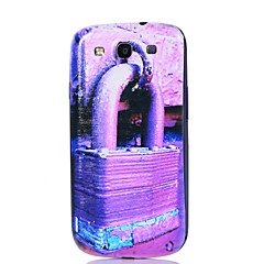 Lock Pattern Thin Hard Case Cover for Samsung Galaxy S3 I9300