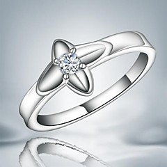 Fashion Sweet Silver Statement Ring For Party For Women (1 pc)