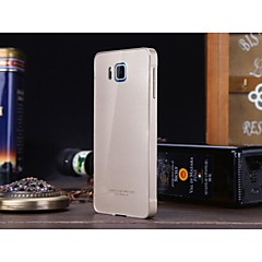Luphie Aluminum Metal Frame with Acrylic Back Case for Samsung Galaxy Alpha