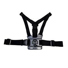 Accessoires GoPro Fixation / Avec Bretelles Pour Gopro Hero 2 / Gopro Hero 3+ / Gopro Hero 4Auto / Militaire / Roller / Motoneige /