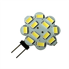 3W G4 LED Spotlight 12 SMD 5630 250-270LM lm Natural White DC 12 V