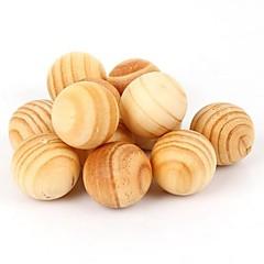 5 stuks natuurlijke aromatherapie hout plaag mot (willekeurige kleur)