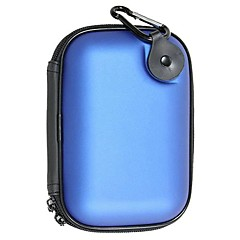 Toiletry Bag Waterproof for Travel StorageWhite Blue
