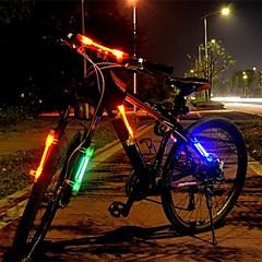 запад biking®bicicletas привело свет лазера лампы безопасность предупреждение для верховой езды, установленный в любом месте велосипедных огней