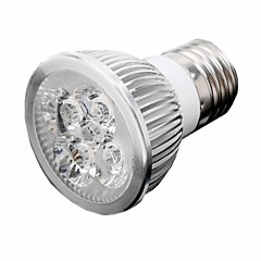 5W E26/E27 LED Spotlight 5 High Power LED 550 lm Warm White / Cool White AC 85-265 V
