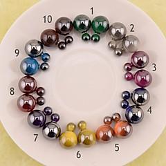 Stud Earrings Fashion Jewelry Earrings Hot Selling 2015 Round Double Pearl Stud Earrings Big Pearl Earrings for Women