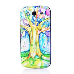Flowers Pattern Thin Hard Case Cover for Samsung Galaxy S3 I9300