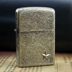 אדמת זהב הצביע סגנון שמן הקלה כוכב מתכת דפוס קל אקראי