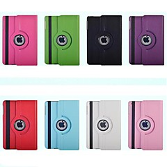Solid Color PU automatic sleep and wake with the rotating protective sleeve for IPad Mini 1/2/3(Assorted Colors)
