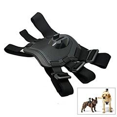 traiga montaje perro del pecho del arnés del cinturón bandolera para GoPro Hero4 / 3 + / 3 / sj4000