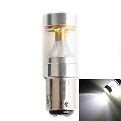 hj 1157 30w 2800lm 6000-6500k 6xcree xb-d levou branco lâmpada de luz do carro de nevoeiro (12-24V, 1 peça)