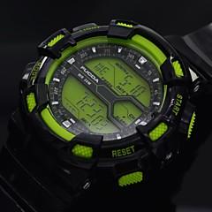 lcd relógio esportivo multifuncional relógio digital de pulso dos homens com el blacklight (cores sortidas)