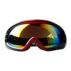 OBAOLAI Black Frame Multi Color Sensor Mirror Lens Anti-UV Anti-Wear Snow Googgles