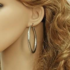 U7® Classic Hoop Earrings 316L Titanium Steel Never Fade Basketball Wives Earrings Fashion Jewelry For Women