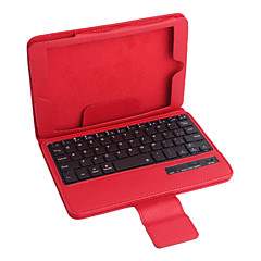 pu lærveske m / bluetooth-tastatur for ipad mini tre ipad mini to iPad Mini (assorterte farger)