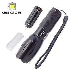 LED Flashlights/Torch / Handheld Flashlights/Torch LED 5 Mode 2000 LumensAdjustable Focus / Waterproof / Rechargeable / Impact Resistant