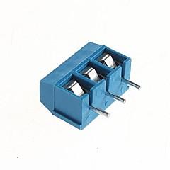 PCB 3-pin 5.08mm Screw Terminals - 300V/16A  (10 PCS)