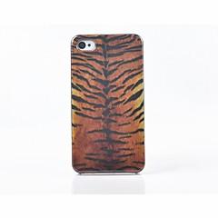Toophone® JOYLAND Plastic Tiger's Skin Back Case for iPhone 4/4S