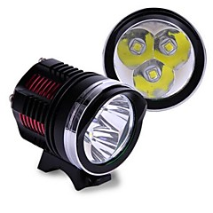 3x CREE XML LED L2 5800Lm Bicycle Bike Light with Headband Powered by 18650 Batteries