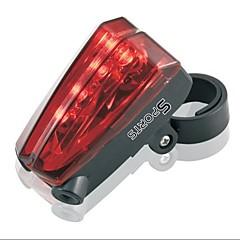 запад безопасности biking®cycling хвост предупреждающей линии велосипед фары 5 светодиодных лазерных Водонепроницаемый фонарь велосипедный свет