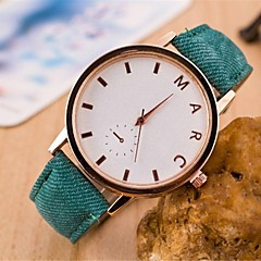 okrągły zegarek pas Moda damska (różne kolory)