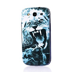 Lion Pattern Thin Hard Case Cover for Samsung Galaxy S3 I9300