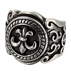 Fashion Carving Titanium Steel Ring