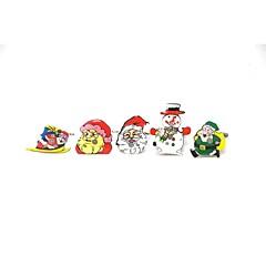 lumière de Noël clignotant Broche / Noël / ornements lumineux de lumière badge (5 / groupe)
