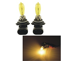 2PCS Carking™ KOBO 9005/9006 550LM 3000K Yellow Light Car Halogen Headlight(DC 12V)