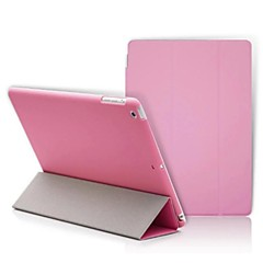 ipad 2 / iPad 3 / iPad 4-kompatibel nyhet pu läder smarta fallet täcker s med matt case