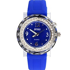 Skmei® Fashion Women Dress Rhinestone Quartz Wrist Watch Back Light 30m Waterproof Assorted Colors Cool Watches Unique Watches