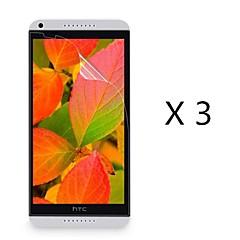 (3 peças) protetor de tela de alta definição para HTC Desire 816