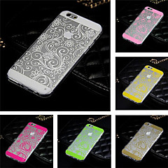 Toophone® JOYLAND Acrylic Four Leaf Clover Lucency Back Cover Case for iPhone 6/6S (Assorted Color)