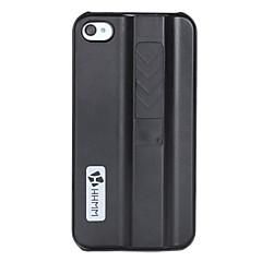 hhmm® yksivärinen muovinen kova kotelo iPhone4 / 4S (valikoituja värejä)