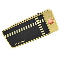 personalizado usb negro clásico encendedor electrónico
