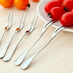 roestvrij staal fruit vork (1 stuks)