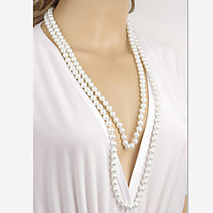 Chain Necklaces Pearl Wedding / Party / Daily / Casual Jewelry
