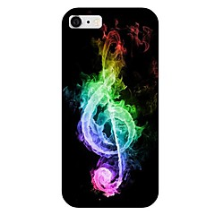 Colorful Musical Note Pattern Back Case for iPhone 6