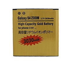 삼성에 대한 교체 3030mah 3.7 배터리 갤럭시 S4 줌 / C101 / C1010