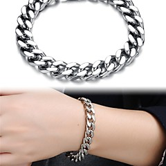Classic Stylish Men Domineering Man Stainless Steel Bracelet Jewelry Christmas Gifts