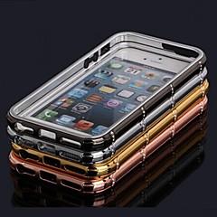 caso strass luxo cristal estilo de metal incrustada bumper telefone shengo ™ para iPhone 5 / 5s