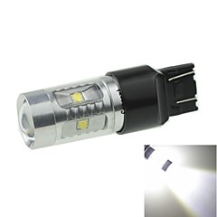 T20 7443  W21 21W W3X16Q   30W 6xCREE Cold White 2100LM 6500K for Car Turn Signal Light (AC/DC12V-24)
