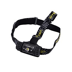 NITECORE HC50 LED 565lm 5-Mode Cool White + Red Light Headlamp(Black)