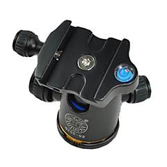 hızlı bırakma plakası yanlısı kamera tripod ile qzsd q-02 alüminyum tripod topu kafa Ballhead